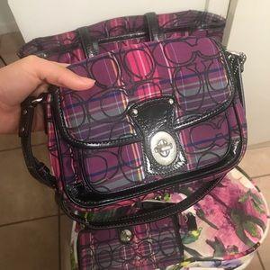 COACH Shoulder purse.